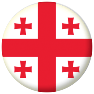 George flag button