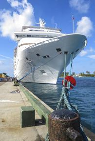bahamas offshore cruise ship docked at nassau shutterstock 171947021