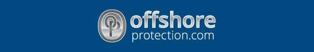 Offshore protection company formation silver blue bkgd